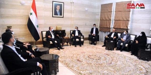 سوریه: در پی توسعه روابط مالی با ایران هستیم